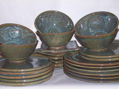 105_0356 & Patti Carmen Pottery: Dinnerware
